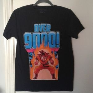Other - Dragon Ball Z over 9000 tshirt